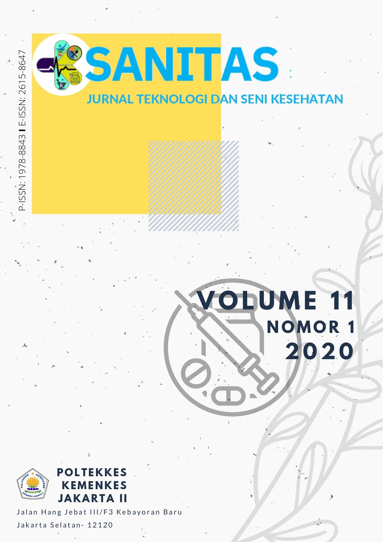 sanitas vol 11 (1), 2020
